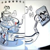 A máquina de ordenar libros, de  Federico Fernández (Fredi)