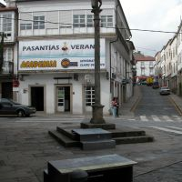 Dúas pezas. San Pedro: Qué facer coas nosas prazas?, de  Carme Nogueira